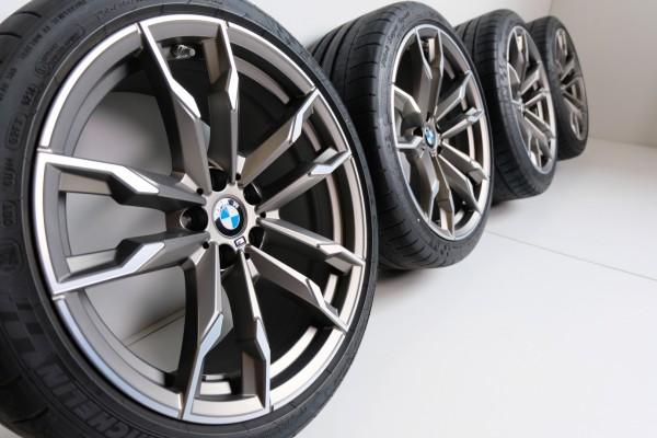 Wie neu BMW Z4 G29 19Zoll M800 Alufelgen Sommerreifen