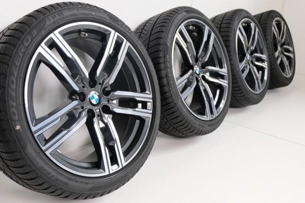 BMW 8er G14 G15 5er G30 G31 M727 19Zoll Winterreifen Winterräder 8mm