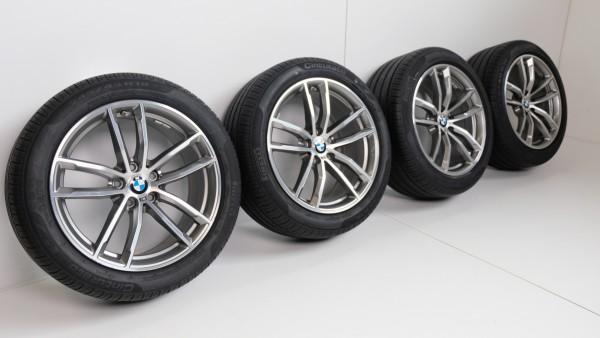 BMW 5er G30 G31 18Zoll M662 Alufelgen Sommerräder RDCi RFT